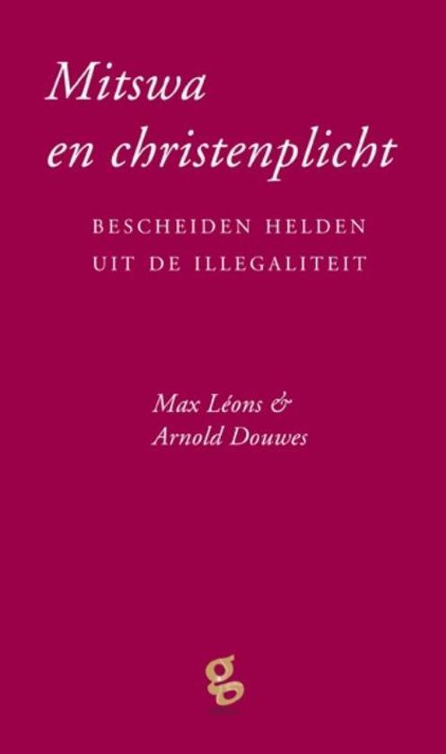 Boek cover Mitswa en christenplicht van Max Léons (Hardcover)