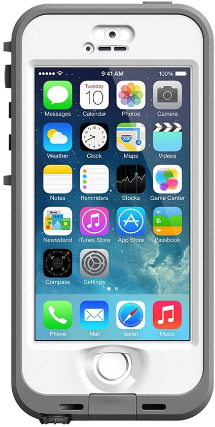 new style 4cdc6 b769a LifeProof Nuud Case voor Apple iPhone 5/5S/SE - Wit