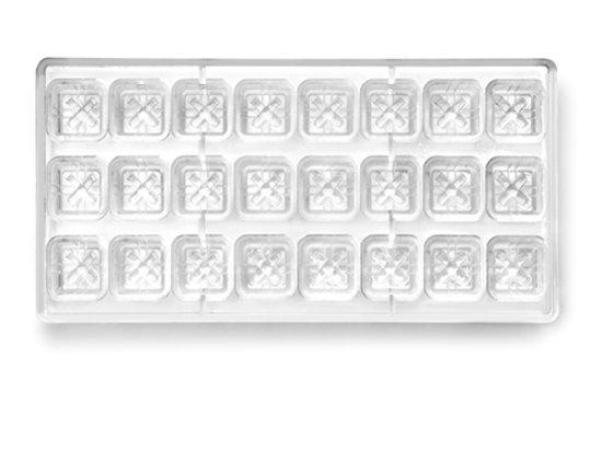 Ibili Bonbonvorm Vierkant 24 stuks