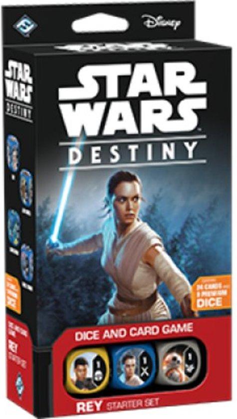 Afbeelding van het spel Star Wars Destiny - Rey Starter Set