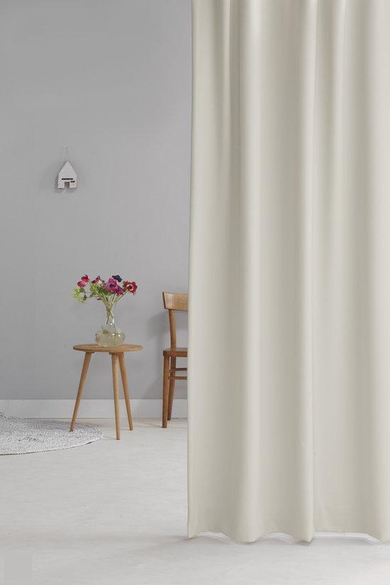 bol.com | Wout - Verduisterend Plooigordijn - Offwhite - 140x280 cm ...