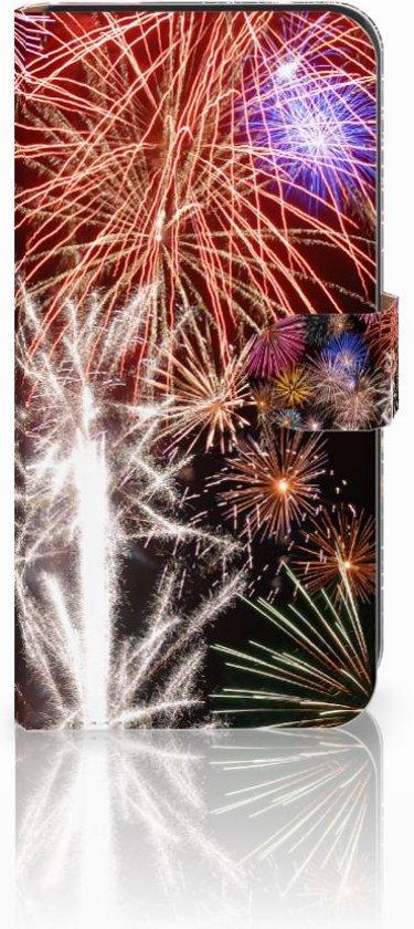 Samsung Galaxy E7 Uniek Ontworpen Design Hoesje Vuurwerk