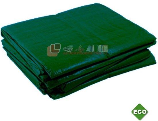 Groen dekzeil, afdekzeil, bouwzeil, afdekzeil, 5x6m, 100gr