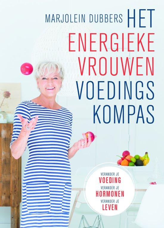 Boek cover Het energieke vrouwen voedingskompas van Marjolein Dubbers (Paperback)