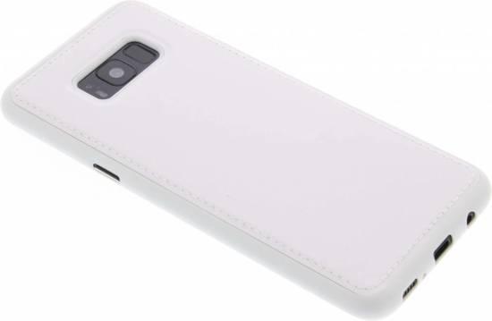 Cuir Blanc Tpu Cas Pour Samsung Galaxy S8 3e9K7aOHp