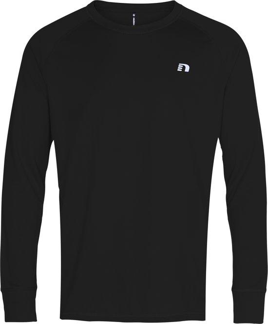 Newline Base Shirt 14333-604 - Sportshirt - Heren - Black - Maat L