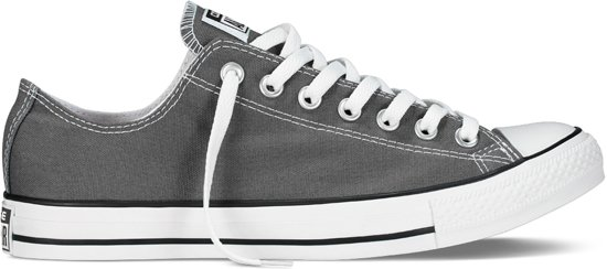 Taylor Converse All Sneakers Unisex 40 Charcoal Maat Star Chuck TBOw5xB1
