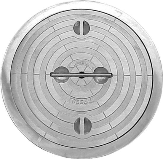 2404-0003  18 Round Hatch, Lift-Out Compr. Seal - Compl. Unit - Stl Ring