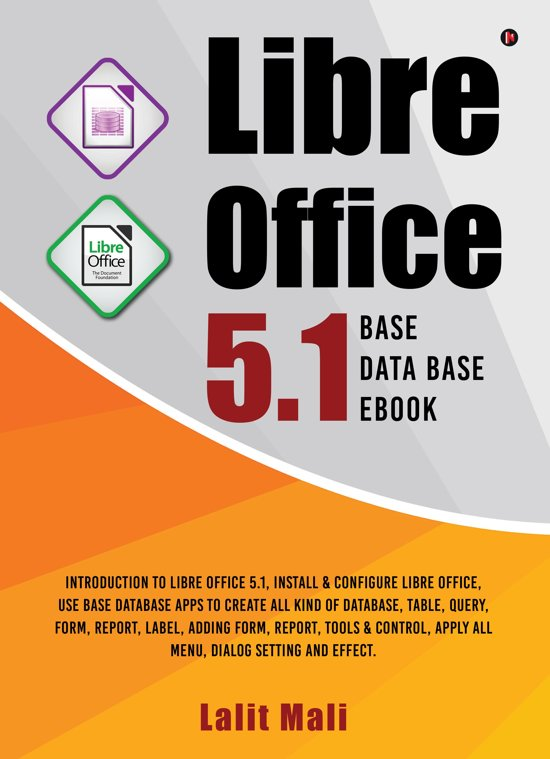 Libre office 5.1 Base Database eBook