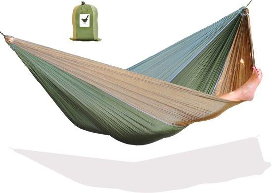 MoreThanHip - Reis Hangmat - Donkergroen
