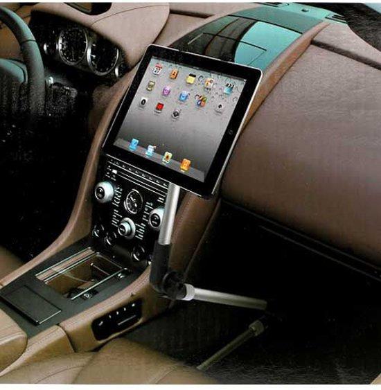 universele uittrekbare auto houder voor tablets. Black Bedroom Furniture Sets. Home Design Ideas