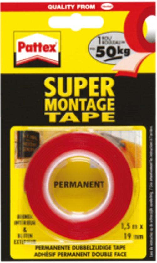 Pattex dubbelzijdig Super Montage Tape d4c74da90934a