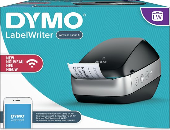 DYMO Labelwriter Wireless zwart