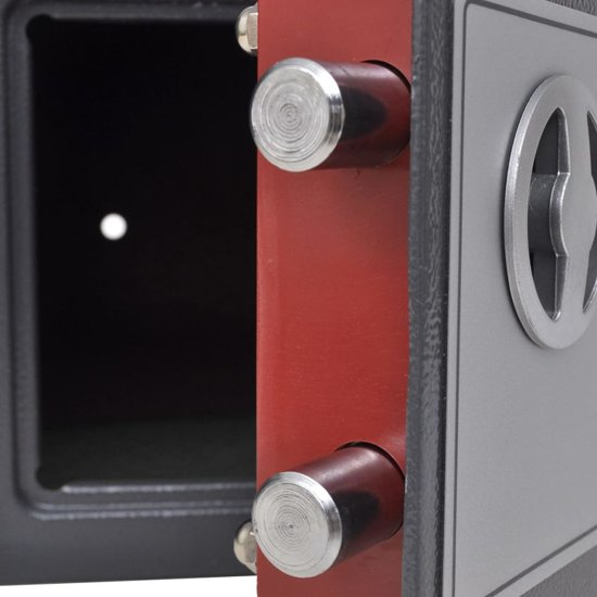 vidaXL Digitale kluis elektronisch 23x17x17 cm