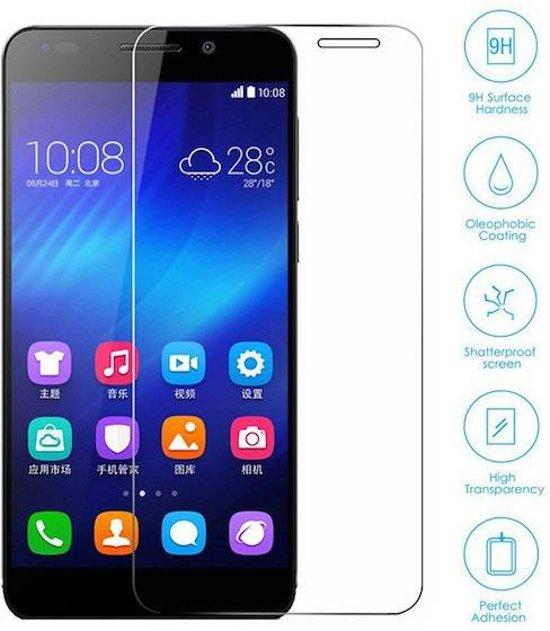 Huawei Honor 6 Plus Tempered Glass Screenprotector in Kerkeind