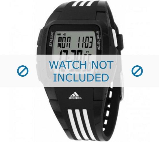 Horlogeband Adidas ADP6000 Rubber Zwart 20mm