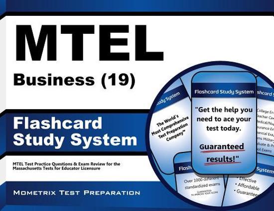 Afbeelding van het spel Mtel Business 19 Flashcard Study System