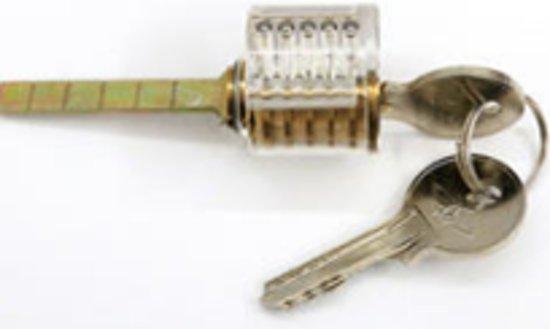 Transparant lockpick oefensloten – Voor Lockpicking set als lock pick gun