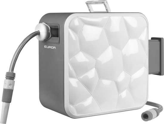 Fabulous bol.com | Eurom Cube Hose reel zelfoprollende slanghaspel 1/2 XK99