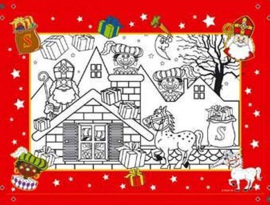 Bol Com Sint En Piet Kleurplaat 6 Stuks Partywinkel Speelgoed