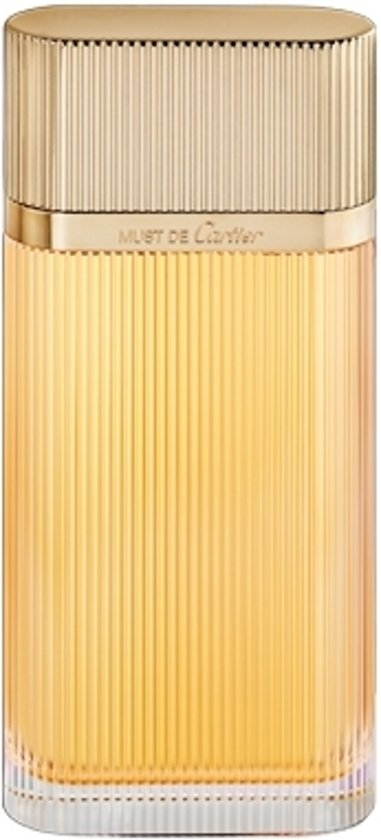 MULTI BUNDEL 2 stuks Cartier Must De Cartier Gold Eau De Perfume Spray 100ml