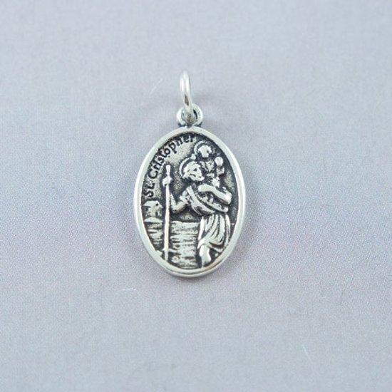 House of jewels zilveren heilige christoffel for Christoffel innendekoration flims