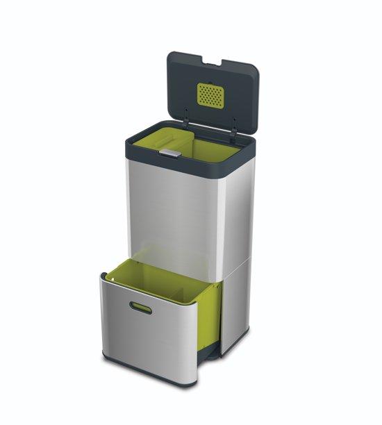 Joseph Joseph Intelligent Waste Totem 60 Liter RVS
