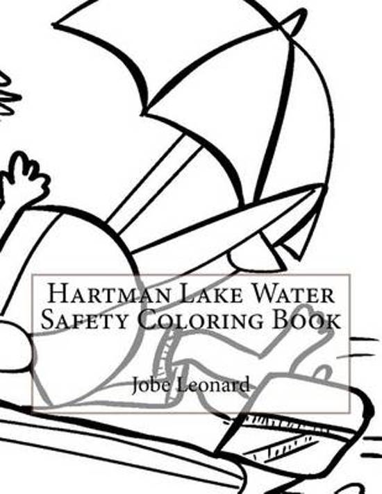 Hartman Lake Water Safety Coloring Book