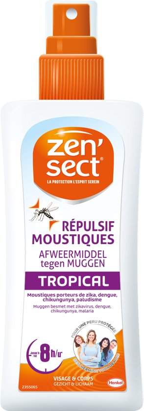 ZENSECT - Insecten Bescherming - SKIN PROTECT Lotion Tropical 100ml