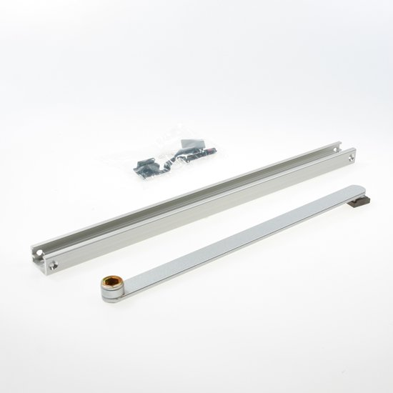 glijrail scharnierzijde voor Geze TS3000/TS5000