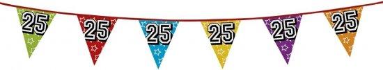 25 jaar vlaggenlijn glitters