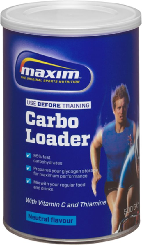 2x Maxim Carbo Loader 500g