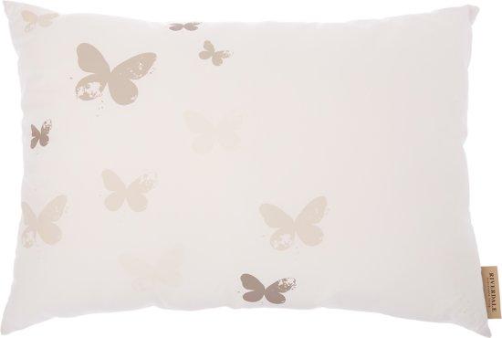 Kussen Wit 9 : Bol riverdale butterfly kussen cm wit