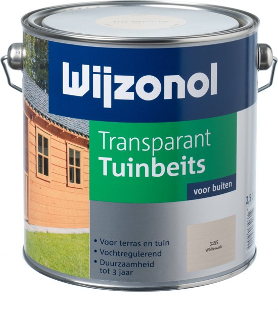 Wijzonol Transparant Tuinbeits - 2,25 liter - Ebben