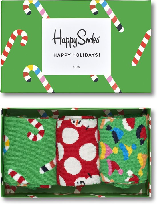 Happy Socks Holiday Candy Giftbox - Maat 41-46