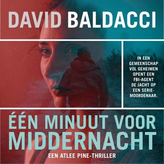 Boek cover Atlee Pine 2 - Eén minuut voor middernacht van David Baldacci (Onbekend)