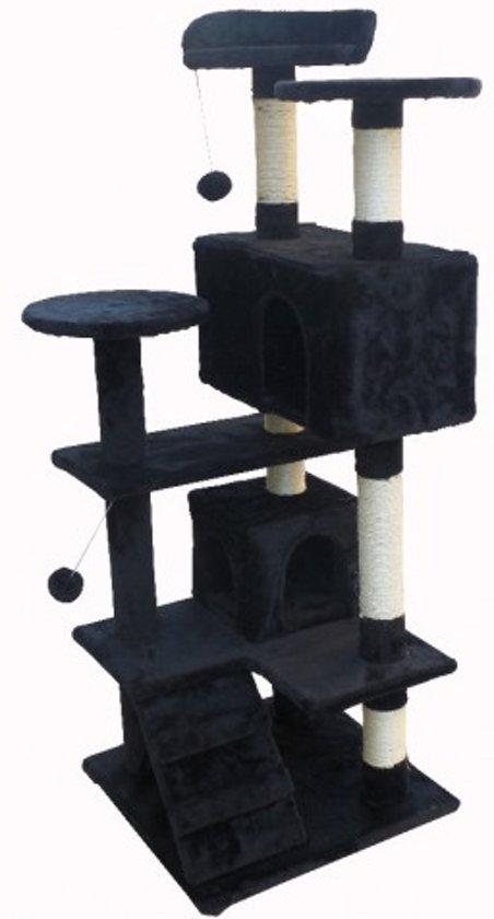 Topmast Krabpaal Mickey Zwart - 50 * 50 * 131 cm