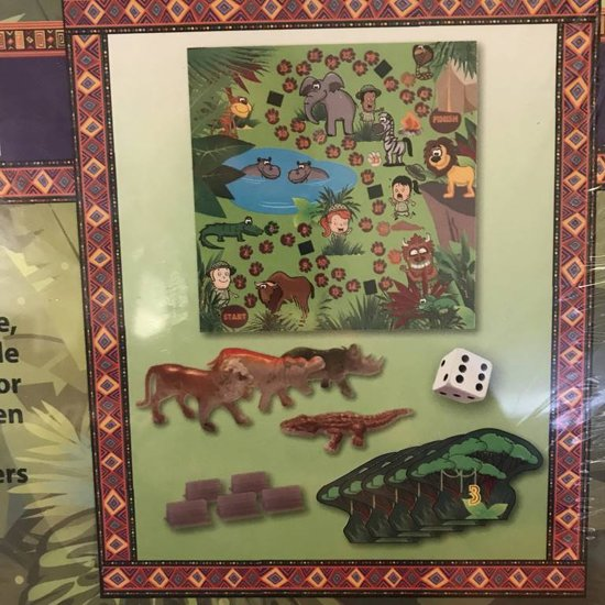 Jungle Safari Bordspel