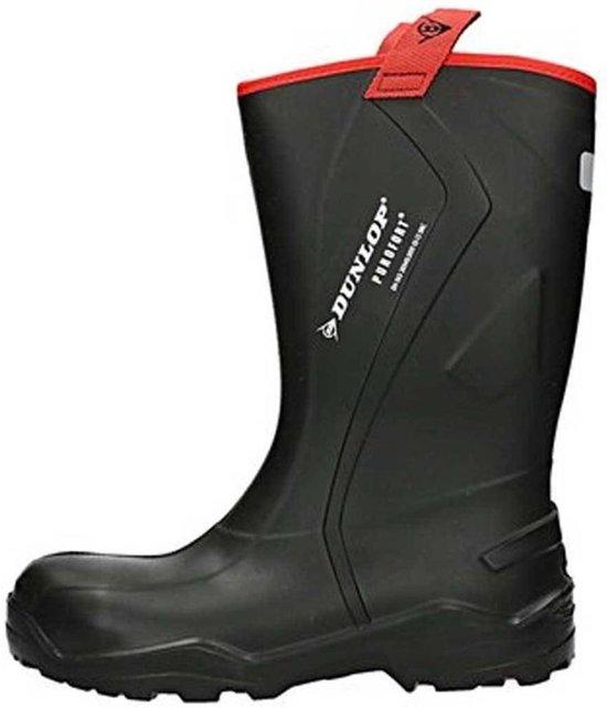 Purofort Thermo Rugged Dunlop Zwart C762043 werklaarzen S5 47 Maat ch Heren ErRqxXHwRn