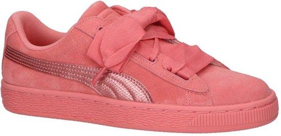 d0d9117e974 bol.com | Puma - 364918 - Lage sneakers - Meisjes - Maat 39 - Roze ...