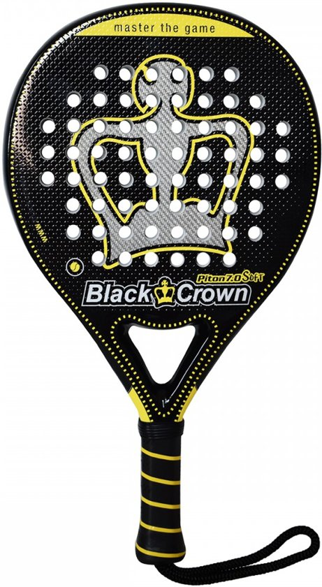 Black Crown Piton 7.0 Soft Padel racket