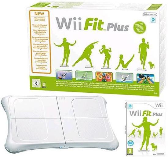 Nintendo Wii Fit Plus + Balance Board - Wit (Wii) kopen
