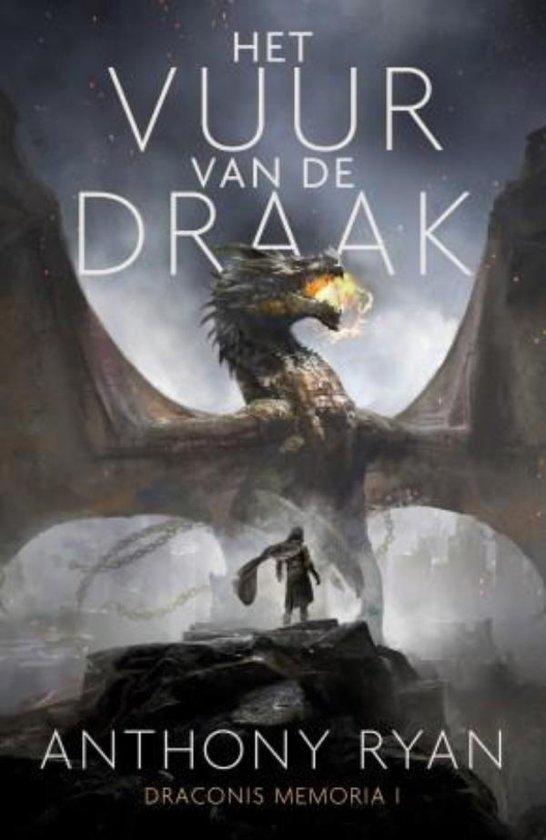 Boek cover Het vuur van de draak van Anthony Ryan (Paperback)