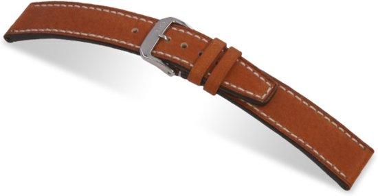 Horlogeband Havana Cognac - 18mm