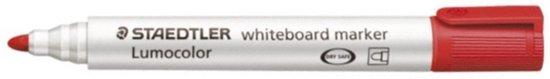 Whiteboardmarker Staedtler 351 2mm Rond Rood