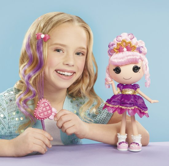 Lalaloopsy Entertainment Feature Doll- Jewel's Glitter Makeover