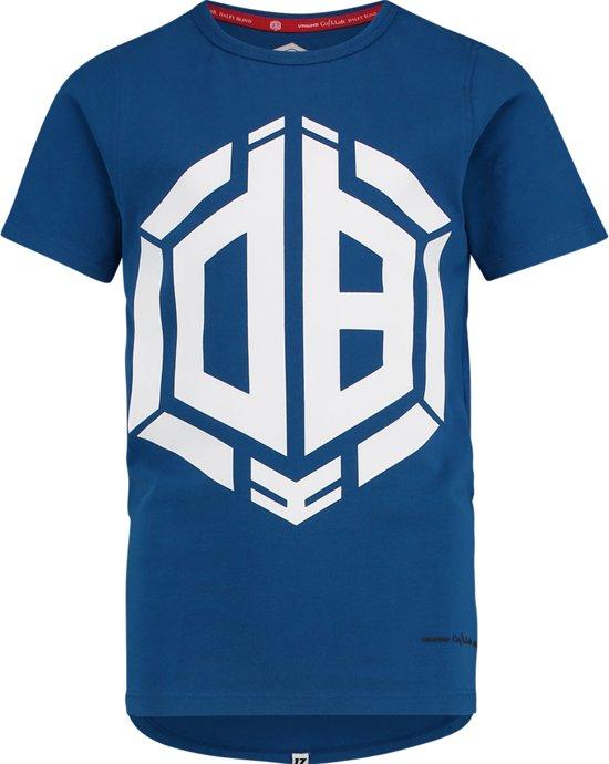 Vingino Jongens Daley Blind collectie T-shirt - Pool Blue - Maat 176