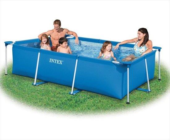 Intex zwembad klein frame 260 x 160 x 65 centimeter