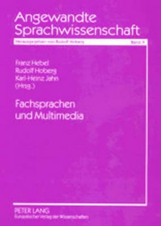 Fachsprachen Und Multimedia