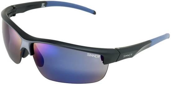 Sinner Antigua + 2 extra lenzensets & Case - Sportbril - Zwart